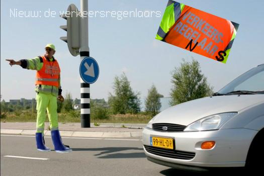 verkeersregenlaars
