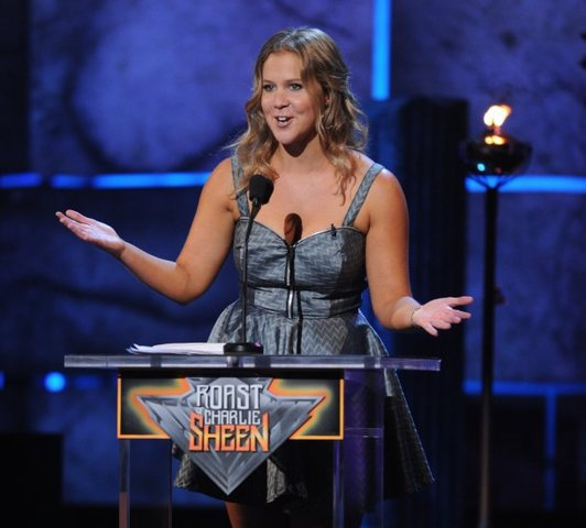 Amy Schumer roast Charlie Sheen